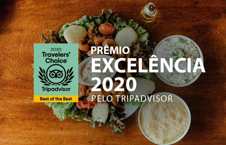 Parrachos Praia Clube ganha prêmio Travellers' Choice 2020