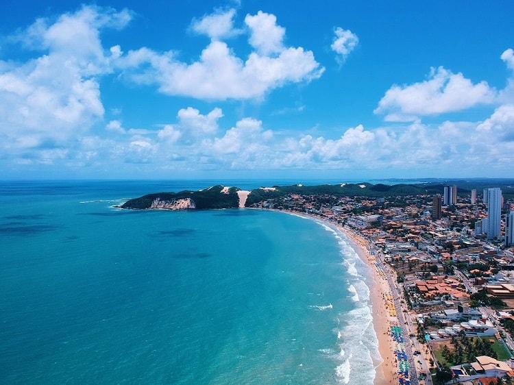 Praia de Ponta Negra terá nova orla, com faixa de areia ampliada